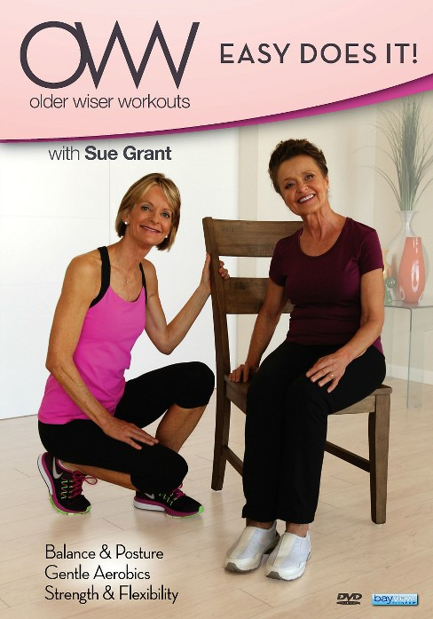 Sue grant:Older wiser workouts easy d (DVD) - image 1 of 1