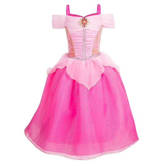 Girl's Sleeping Beauty Aurora Costume - 3 - Disney store, Women's, Pink image number null