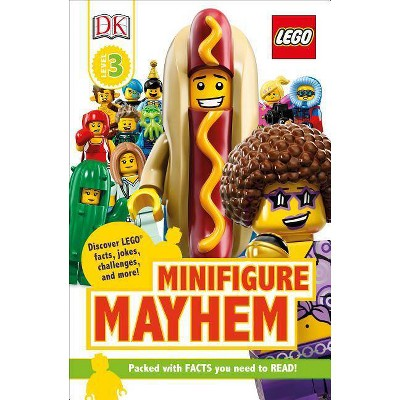 Lego Minifigure Mayhem : Discover Lego Facts, Jokes, Challenges, and More! -  (Paperback)