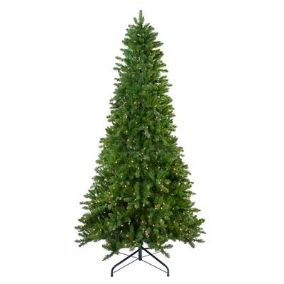 Northlight 10' Prelit Artificial Christmas Tree Slim Eastern Pine - Clear Lights