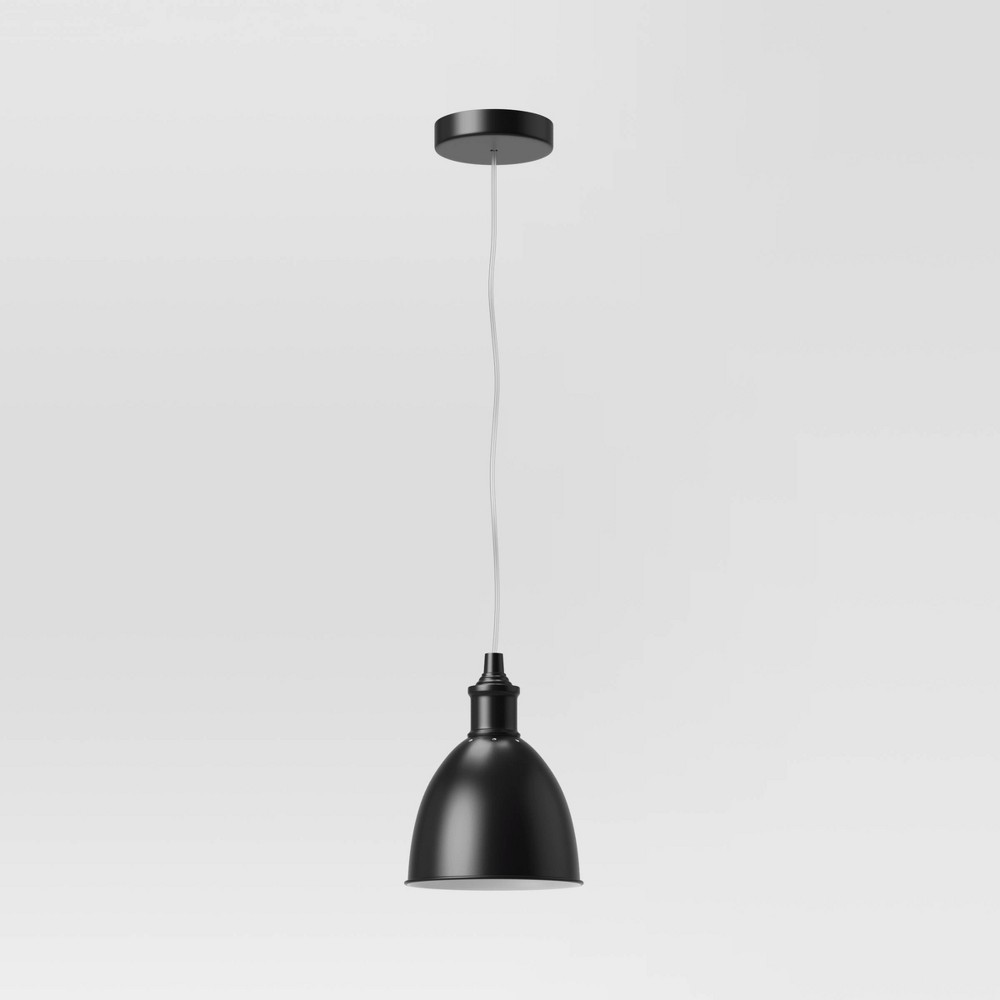 Large Industrial Metal Pendant Light Includes Bulb Threshold 8482