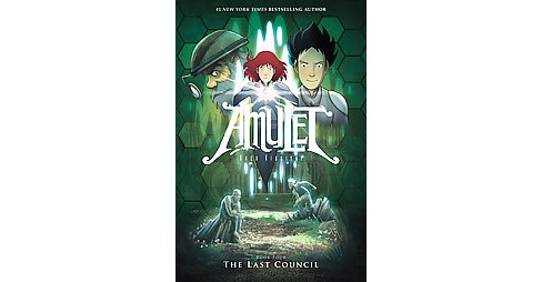 Amulet 4 : The Last Council (Reissue) (Hardcover) (Kazu Kibuishi) - image 1 of 1