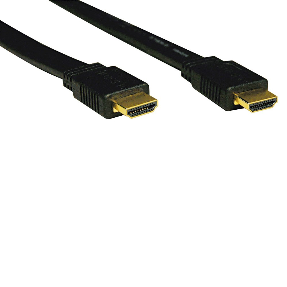 Tripp Lite P568-003-FL 3ft Flat HDMI Gold Cable HDMI M/M, 3'