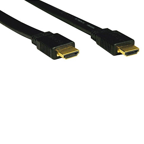 Tripp Lite P568-003-FL 3ft Flat HDMI Gold Cable HDMI M/M, 3' - image 1 of 1