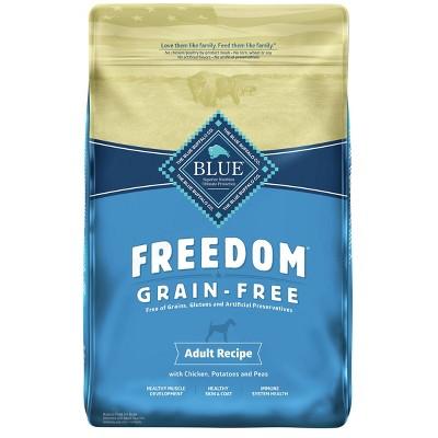 Blue Buffalo Freedom Grain Free with Chicken, Potatoes & Peas Adult Dry Dog Food