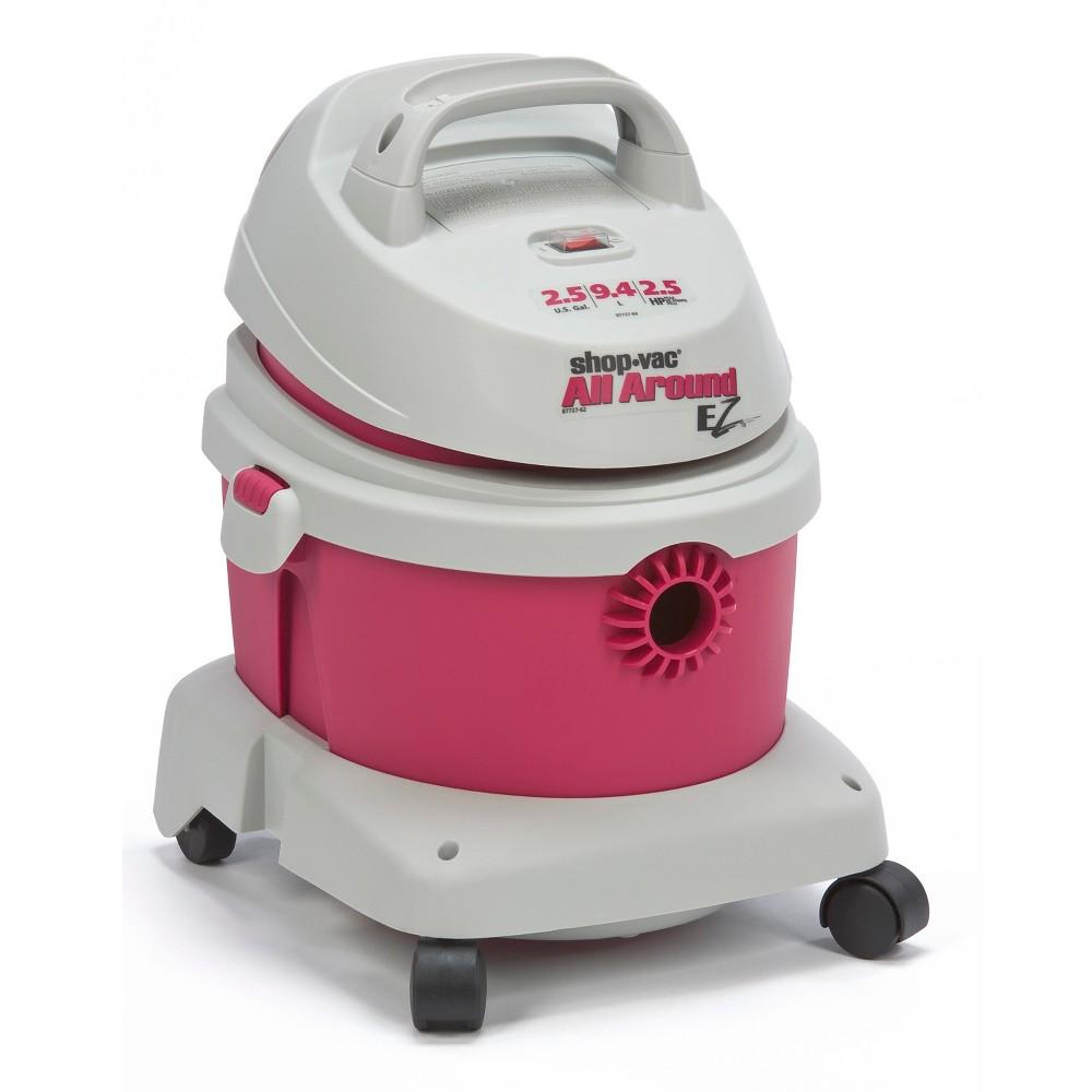 Image of Shop-Vac 2.5gal All Around EZ Wet/Dry Vac - Pink