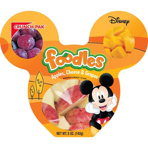 Crunch Pak Disney Foodle Apple and Cheese Snacks - 5oz - image 1 of 1