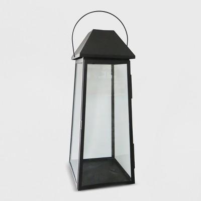 30  Outdoor Lantern Black Hood - Threshold™