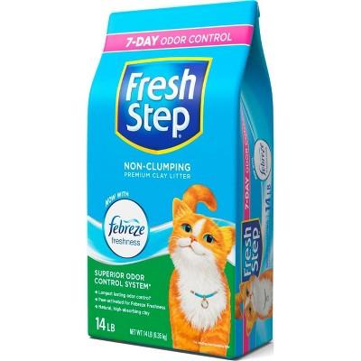 Fresh Step Non-Clumping Cat Litter -14lb