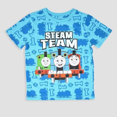 163313dac5db4 Toddler Boys' 3pk Thomas & Friends Short Sleeve T-Shirt - Blue : Target