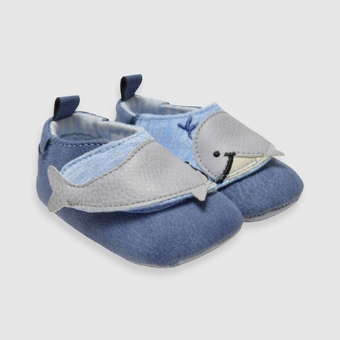 Robeez Womens Pretty in Blue Soft Sole Infant//Toddler