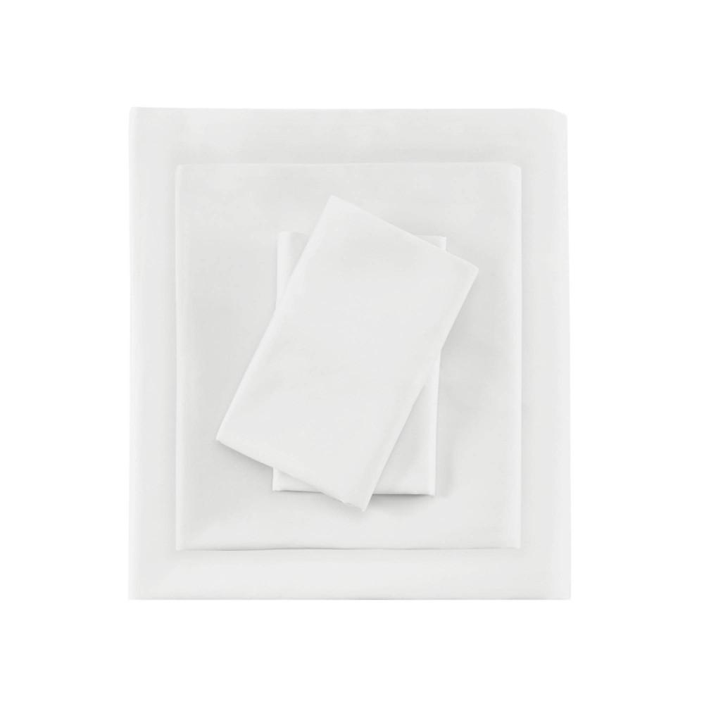 Image of 600 Thread Count Pima Cotton 4 Piece Sheet Set