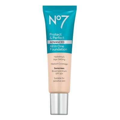 No7 Protect & Perfect Advanced All in One Foundation SPF 50 - 1 fl oz