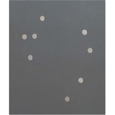 Quartet Power Magnets for Matrix Signs 50/PK Silver SM50