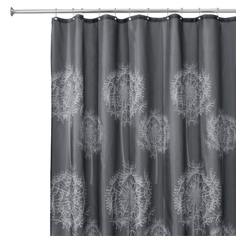 Dandelion Shower Curtain - iDESIGN - image 1 of 2