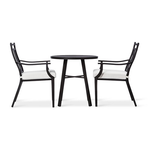 Fairmont 3pc Metal Patio Bistro Set - Threshold™ - image 1 of 6