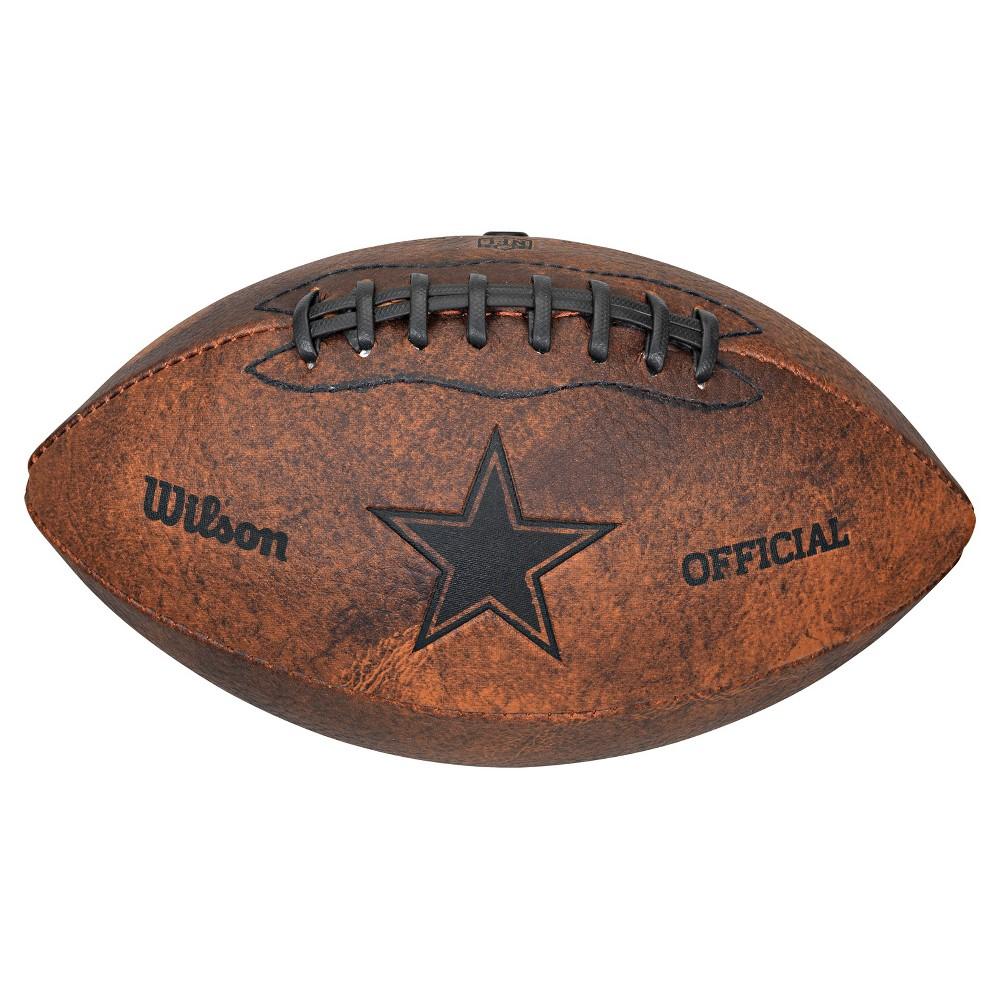 Dallas Cowboys Wilson 9 Inch Throwback Football