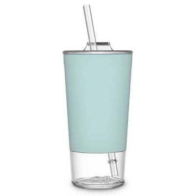 Ello Tidal 20oz Glass Tumbler with Lid