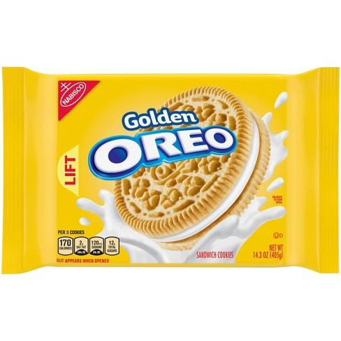 Oreo Golden Sandwich Cookies - 14.3oz - image 1 of 4