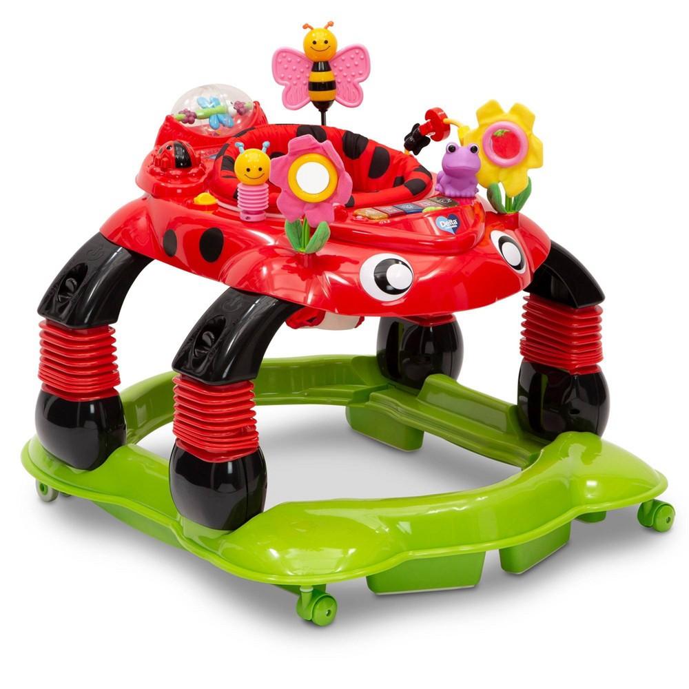 Image of Delta Children Lil Play Station 4-in-1 Activity Walker - Sadie The Ladybug