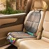 Munchkin Brica Seat Guardian Car Seat Protector - Brown/Black - image 3 of 4
