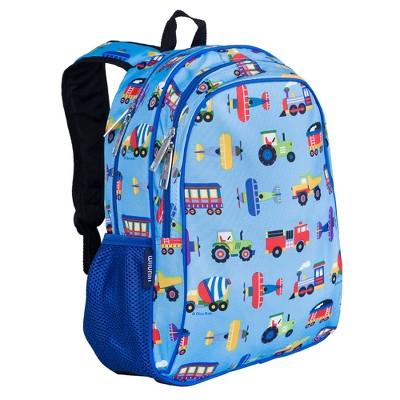 Wildkin Trains, Planes & Trucks 15 Inch Backpack