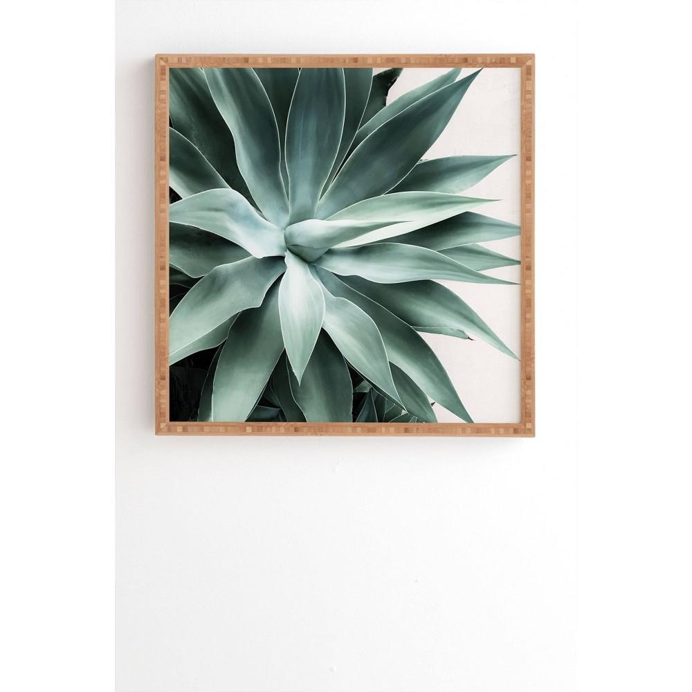12 34 X 12 34 Gale Switzer Bursting Into Life Framed Wall Art Green Deny Designs