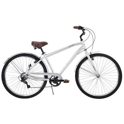 "Huffy Men's Sienna 27.5"" Comfort Hybrid Bike - Silver"