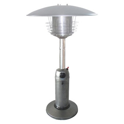 Portable Hammered Silver Heater