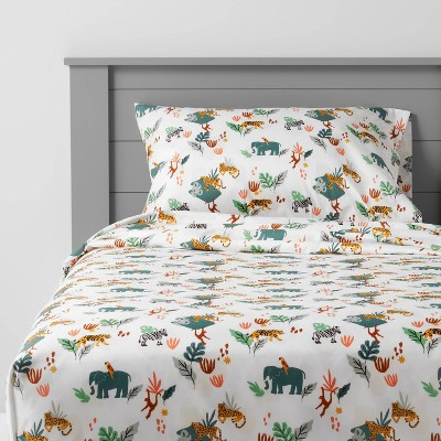 Jungle Microfiber Sheet Set - Pillowfort™