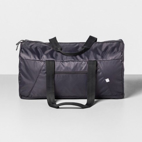 Packable Duffel Bag Gray - Made By Design™ - image 1 of 2