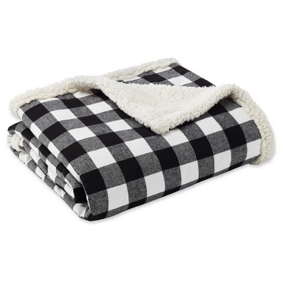 "50""x60"" Cabin Plaid Throw Blanket - Eddie Bauer"