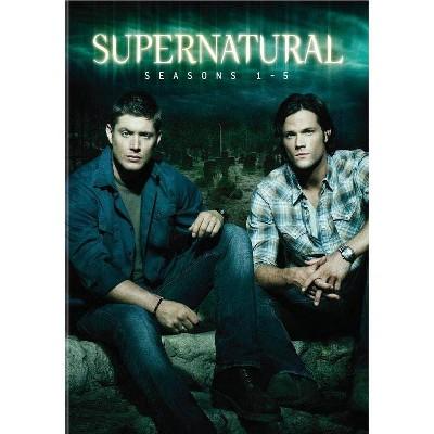 Supernatural: Seasons 1-5 (DVD)(2019)