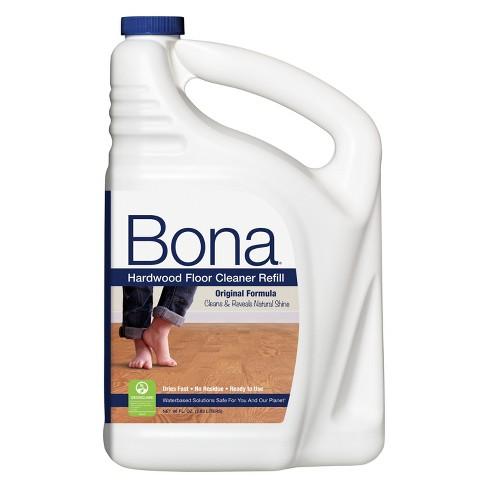 Bona Hardwood Floor Cleaner Refill 96 Fl Oz Target