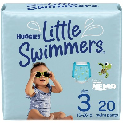 Huggies Little Swimmers Swim Diapers Size 3 Small (20ct)