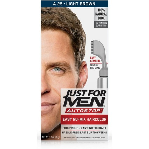 Just For Men Autostop Light Brown A 25 Target