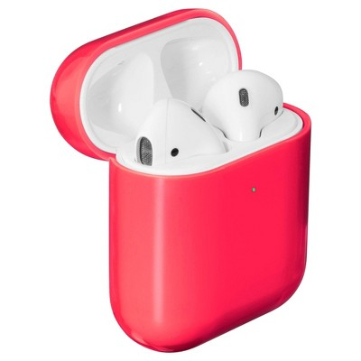 LAUT Crystal-X Airpod Case - Electric Coral