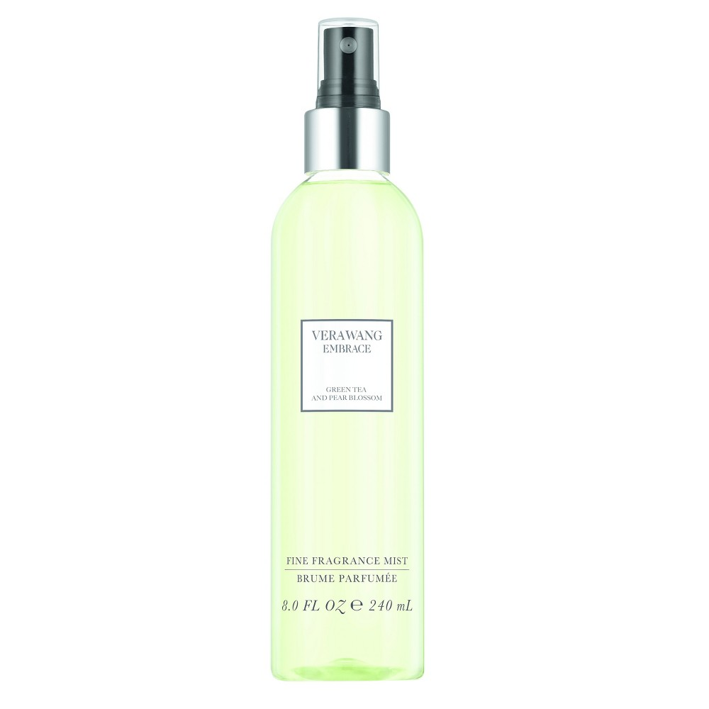 Embrace by Vera Wang Green Tea and Pearl Blossom Women's Fine Fragrance Mist - 8oz