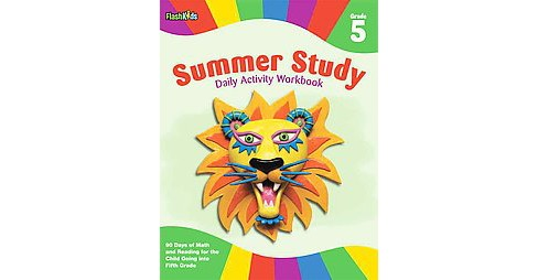 Summer Study Daily Activity Workbook: Grade 5 (Paperback) (Christine Hood) - image 1 of 1
