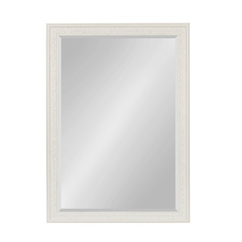 """28.5""""x40.5"""" Alysia Framed Wall Mirror White - Kate and Laurel - image 1 of 4"""