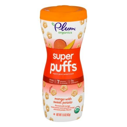 Plum Organics Super Puffs Mango with Sweet Potato - 1.5oz - image 1 of 4