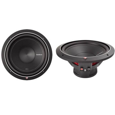 """2)ROCKFORD FOSGATE Punch P1S2-12 12"""" 1000W 2-Ohm Power Car Audio Subwoofers Subs"""