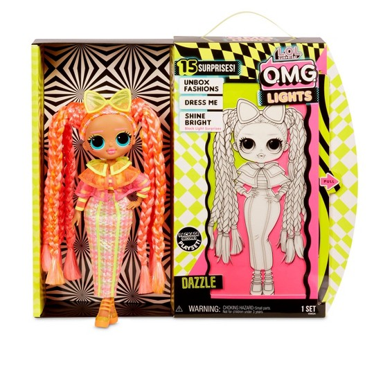 L.O.L. Surprise! O.M.G. Lights Dazzle Fashion Doll image number null