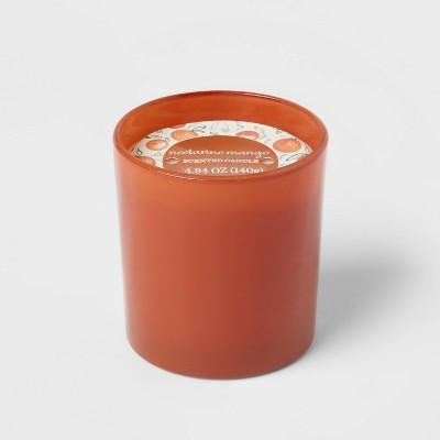 Glass Jar Nectarine Mango Candle - Opalhouse™