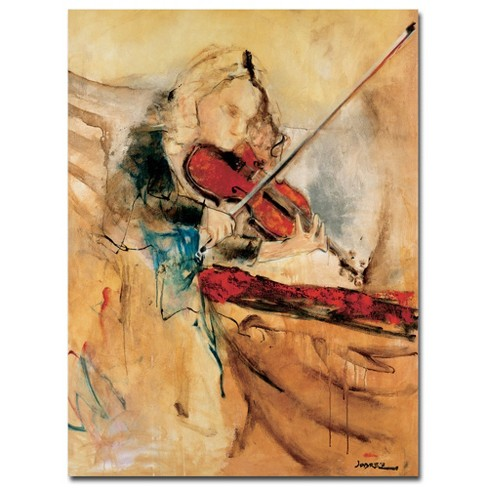 "Trademark Fine Art 18"" x 24"" Joarez 'Amazing Touch' Canvas Art - image 1 of 1"