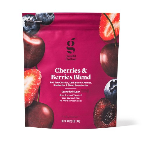 Cherries and Berries Frozen Blend - 48oz - Good & Gather™ - image 1 of 2