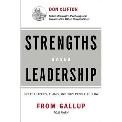 Strengths Based Leadership - by  Tom Rath & Gallup Press (Hardcover)