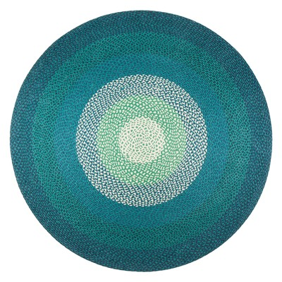 6' Shapes Braided Round Area Rug - Anji Mountain