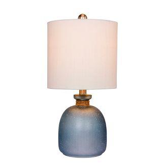 Coastal Glass Table Lamp Blue  - Fangio Lighting