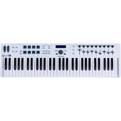 Arturia KeyLab Essential 61 MIDI Keyboard Controller White